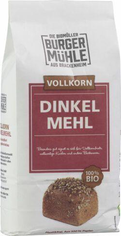 Burgermühle Dinkelvollkornmehl 6x1kg