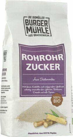 Burgermühle Roh-Rohrzucker 6x1kg