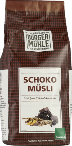 Burgermühle Schoko Müsli 6x750g