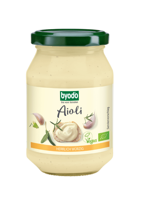 Byodo Aioli, vegan 250ml