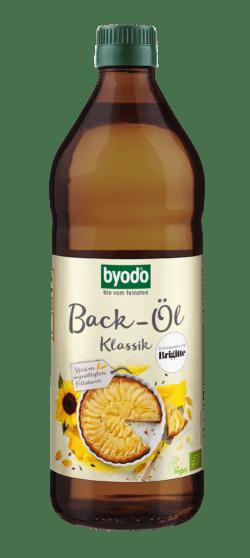Byodo Back-Öl Klassik, aus high oleic und lin oleic Sonnenblumenkernen 6x0,75l