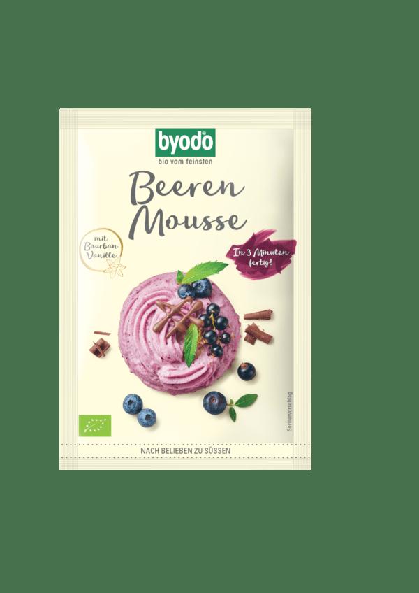 Byodo Beeren Mousse für 0,35 l 30g