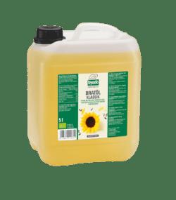 Byodo Bratöl Klassik, aus high oleic Sonnenblumen, desodoriert 5l