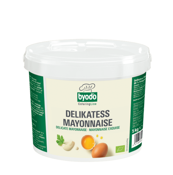 Byodo Delikatess Mayonnaise 80% Fett 5x5kg