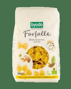 Byodo Farfalle, semola (Schmetterlinge) 12x500g