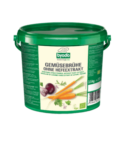 Byodo Gemüsebrühe ohne Hefeextrakt, vegan 3,5kg