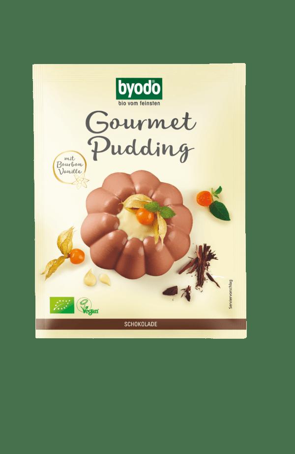 Byodo Gourmet Pudding Schoko 20x46g