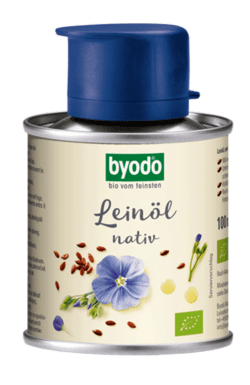 Byodo Leinöl, nativ - in der Dose 6 x 100ml