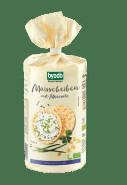Byodo Maisscheiben mit Meersalz 12x120g