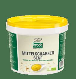 Byodo Mittelscharfer Senf 5kg