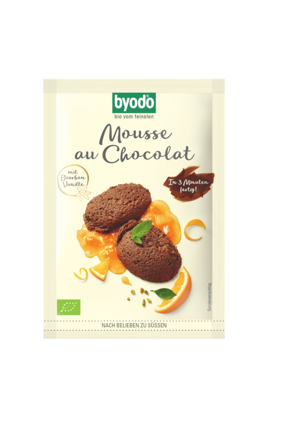 Byodo Mousse au Chocolat für 0,35 l 20x36g