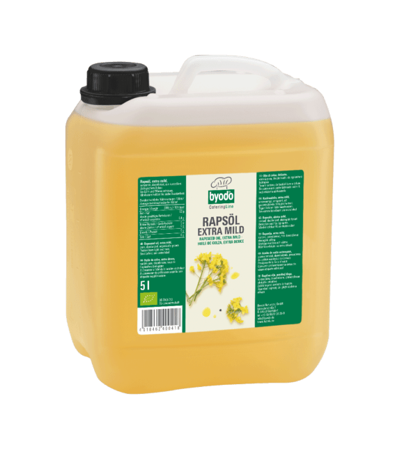 Byodo Rapsöl, extra mild, desodoriert 5l