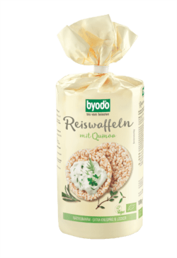 Byodo Reiswaffeln mit Quinoa ohne Salzzusatz 6x100g