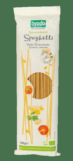 Byodo Sommerdinkel Spaghetti 12x500g