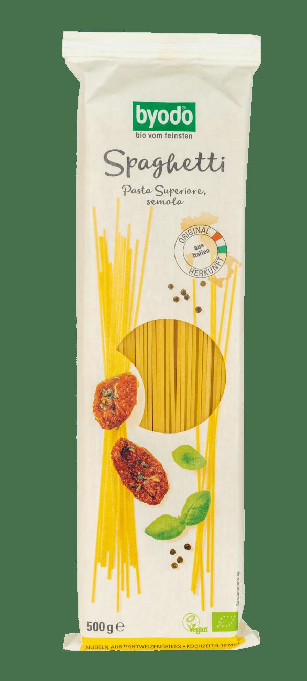 Byodo Spaghetti, semola 12x500g