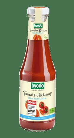 Byodo Tomaten Ketchup ohne Kristallzucker 6x500ml