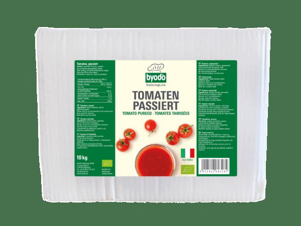 Byodo Tomaten Passiert, ca. 8 - 10 Brix, 10 kg, Bag in Box 10kg