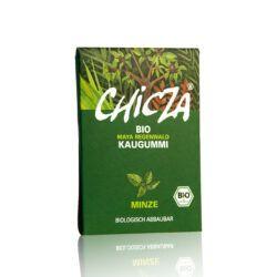 CHICZA Bio-Kaugummi Minze 10x30g