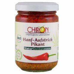 CHIRON Hanfaufstrich Pikant 6x135g