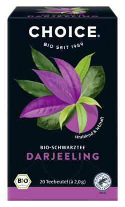 CHOICE Darjeeling Bio 6x40g