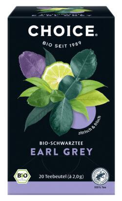 CHOICE Earl Grey Bio 6x40g