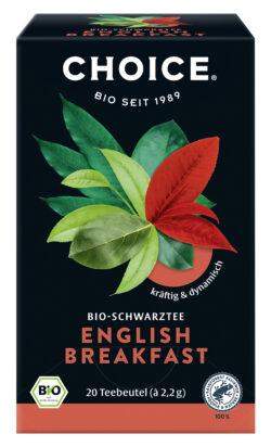 CHOICE English Breakfast Bio 6x44g