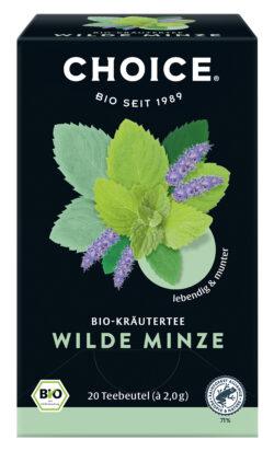 CHOICE Wilde Minze Bio 6x40g