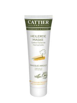 Cattier Paris Cattier Gelbe Heilerde Maske für normale bis trockene Haut 100ml