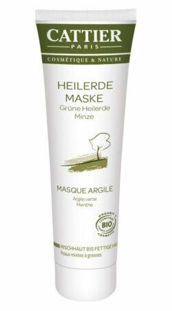 Cattier Paris Cattier Grüne Heilerde Maske für Mischhaut bis fettige Haut 100ml