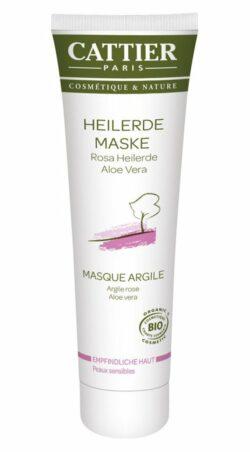 Cattier Paris Cattier Rosa Heilerde Maske für empfindliche Haut 100ml
