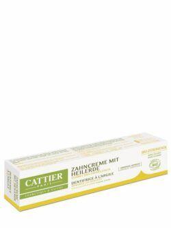 Cattier Paris Cattier Zahncreme mit Heilerde Zitrone 75ml