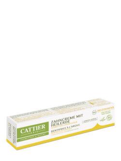 Cattier Paris Cattier Heilerde Zahncreme mit Bio-Zitronenöl 75ml