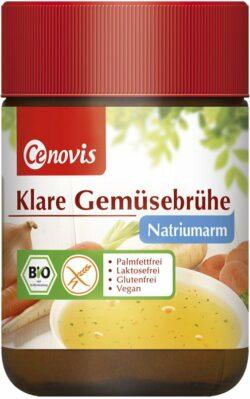Cenovis Klare Gemüsebrühe natriumarm, bio 6x96g