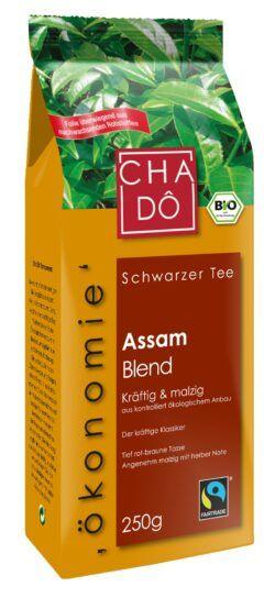 Cha Dô Ökonomie Fairtrade Assam Broken Blend 10x250g