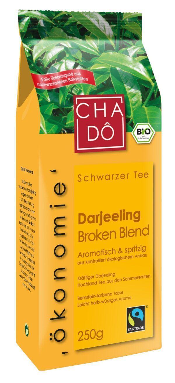 Cha Dô Ökonomie Fairtrade Darjeeling Broken Blend 10x200g