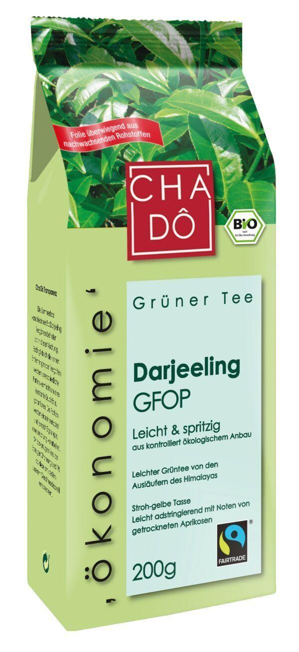 Cha Dô Ökonomie Fairtrade Darjeeling Grüntee 10x200g