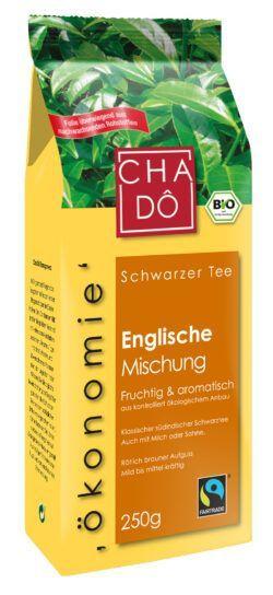 Cha Dô Ökonomie Fairtrade Englische Mischung 10x250g