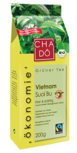 Cha Dô Ökonomie Fairtrade Vietnam Grüntee Suoi Bu 10x200g