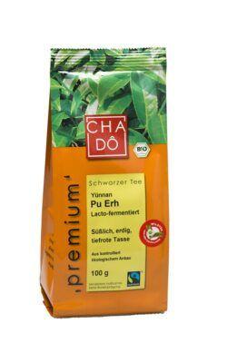 Cha Dô Premium Fairtrade Pu Erh 5x100g