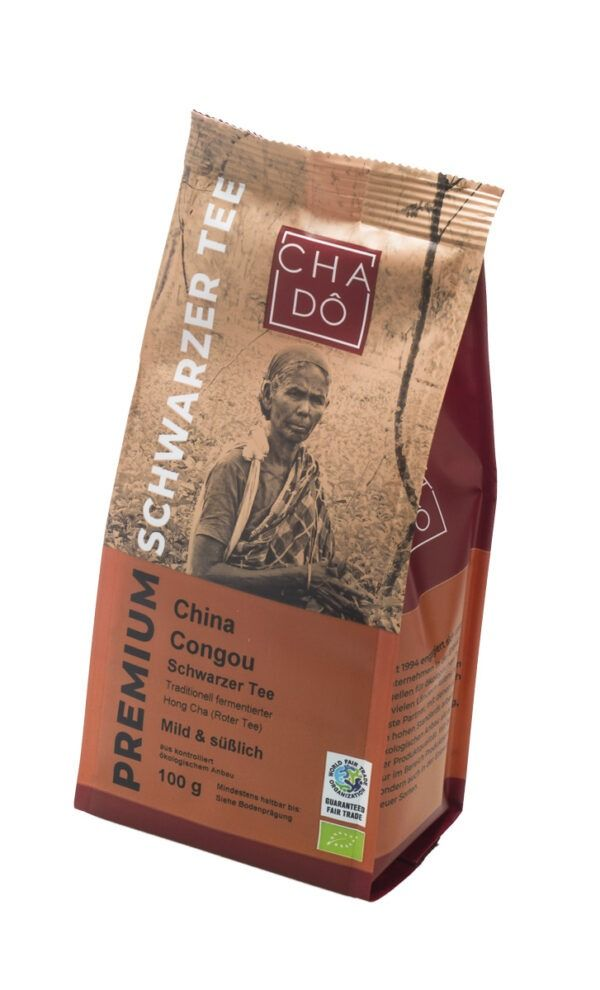 Cha Dô Premium Congou Superior Schwarztee WFTO 5x100g