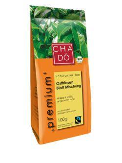 Cha Dô Premium Fairtrade Ostfriesen Blatt Mischung 5x100g