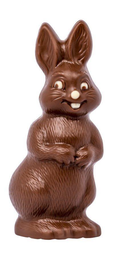 Chocolat Schönenberger Glückshase klein, Vollmilchschokolade 12x50g