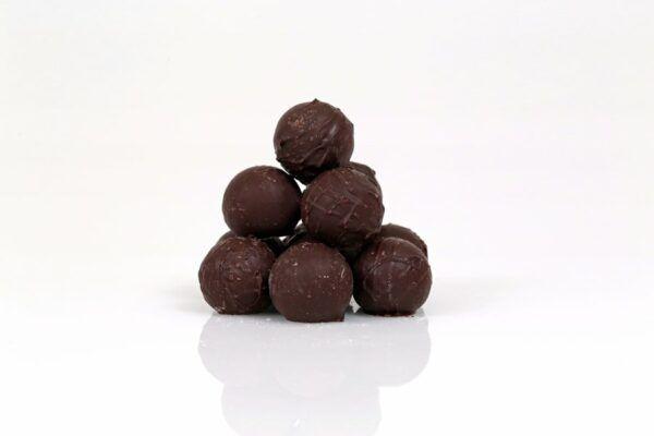 Chocolat Schönenberger Truffes, Zartbitterschokolade mit Eierlikör 12x105g