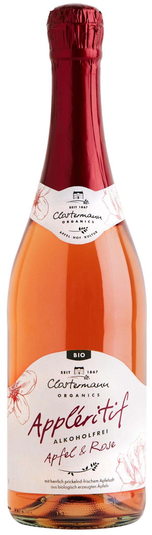 Clostermann Appleritif Apfel & Rose (alkoholfrei) 0,75l
