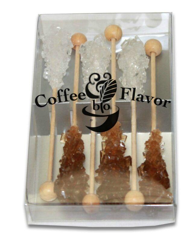 Coffee & Flavor Bio Geschenkpackung je 3 Sticks braun & weiß 24x36g