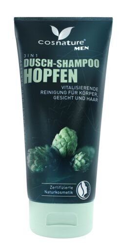 Cosnature  3 in 1 Dusch-Shampoo Hopfen 200ml