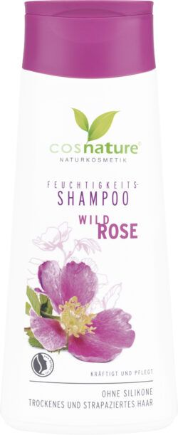 Cosnature  Feuchtigkeits Shampoo Wild Rose 200ml
