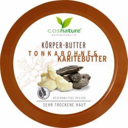 Cosnature  Körperbutter Tonkabohne & Karitébutter 200ml