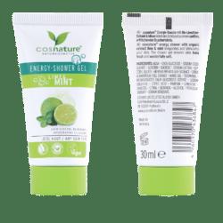 Cosnature  Probiergröße Energy-Shower Gel Limette & Minze 30ml