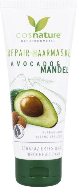 Cosnature Repair Haarmaske Avocado & Mandel 200 ml 100ml